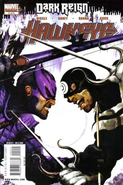 Dark Reign: Hawkeye #2 Comic Books - Covers, Scans, Photos  in Dark Reign: Hawkeye Comic Books - Covers, Scans, Gallery