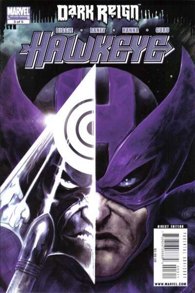 Dark Reign: Hawkeye #3 Comic Books - Covers, Scans, Photos  in Dark Reign: Hawkeye Comic Books - Covers, Scans, Gallery