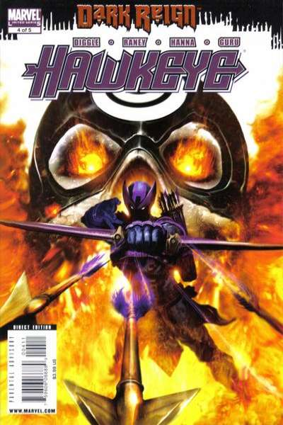 Dark Reign: Hawkeye #4 Comic Books - Covers, Scans, Photos  in Dark Reign: Hawkeye Comic Books - Covers, Scans, Gallery