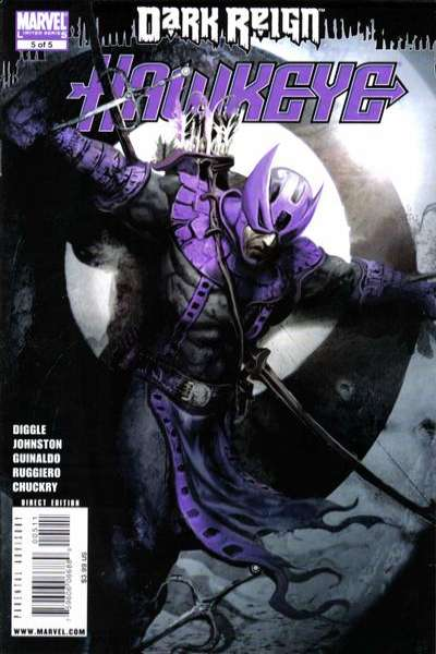 Dark Reign: Hawkeye #5 comic books for sale