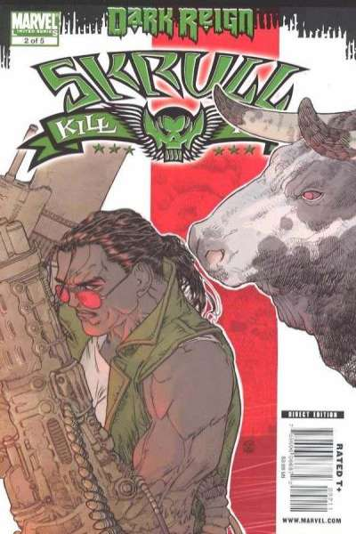 Dark Reign: Skrull Kill Krew #2 comic books for sale