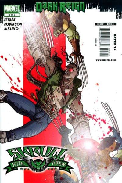 Dark Reign: Skrull Kill Krew #3 comic books for sale