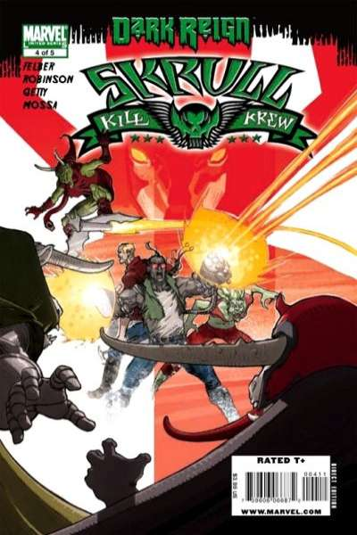 Dark Reign: Skrull Kill Krew #4 comic books for sale