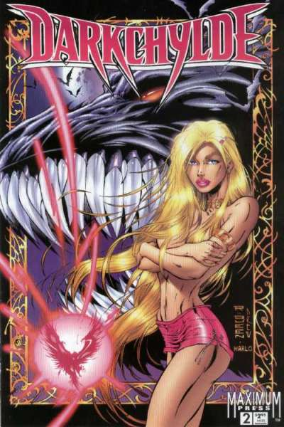 Darkchylde #2 comic books - cover scans photos Darkchylde #2 comic books - covers, picture gallery