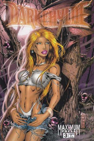 Darkchylde #3 comic books for sale