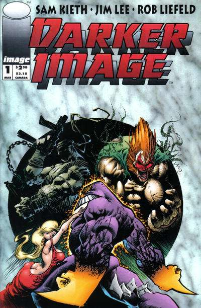 Darker Image Comic Books. Darker Image Comics.