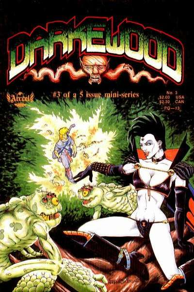 Darkewood #3 Comic Books - Covers, Scans, Photos  in Darkewood Comic Books - Covers, Scans, Gallery
