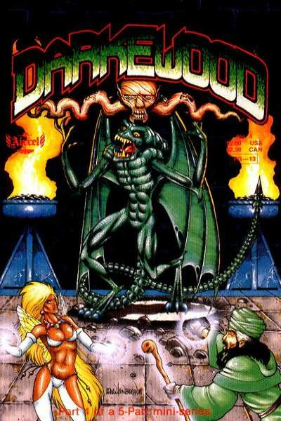 Darkewood #4 Comic Books - Covers, Scans, Photos  in Darkewood Comic Books - Covers, Scans, Gallery