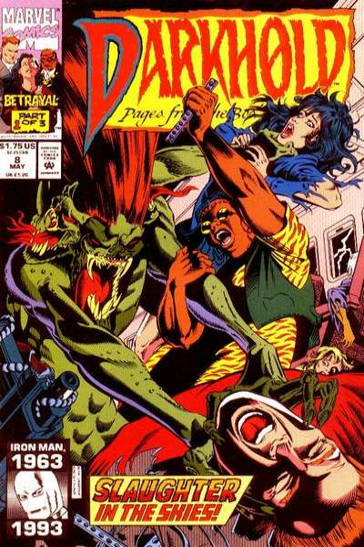Darkhold: Pages from the Book of Sins #8 comic books for sale