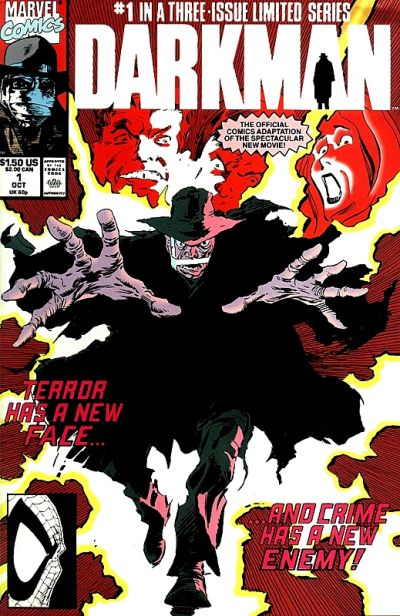 Darkman Comic Books. Darkman Comics.