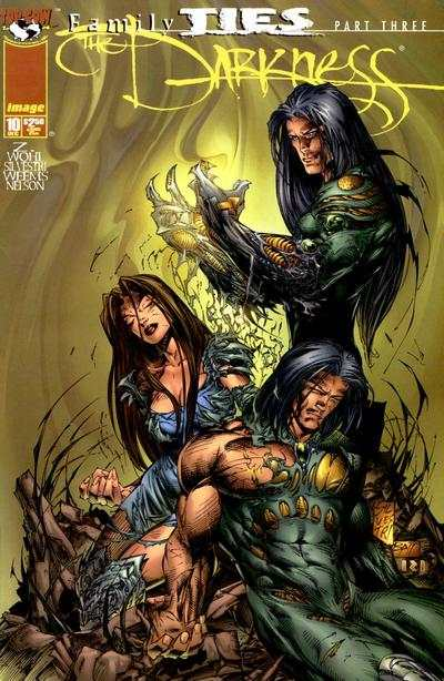 Darkness #10 comic books - cover scans photos Darkness #10 comic books - covers, picture gallery