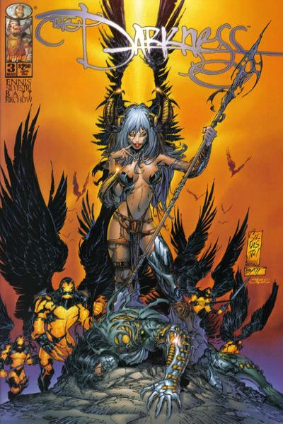 Darkness #3 comic books - cover scans photos Darkness #3 comic books - covers, picture gallery