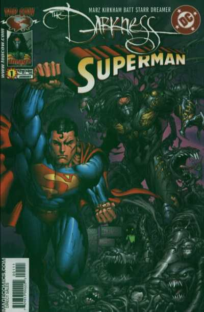 Darkness/Superman comic books