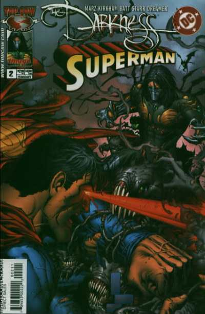 Darkness/Superman #2 Comic Books - Covers, Scans, Photos  in Darkness/Superman Comic Books - Covers, Scans, Gallery
