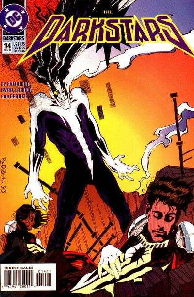 Darkstars #14 comic books for sale