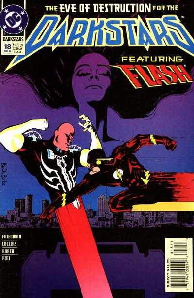 Darkstars #18 comic books for sale