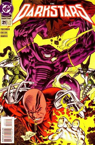 Darkstars #21 Comic Books - Covers, Scans, Photos  in Darkstars Comic Books - Covers, Scans, Gallery