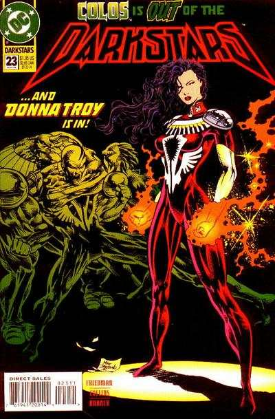 Darkstars #23 Comic Books - Covers, Scans, Photos  in Darkstars Comic Books - Covers, Scans, Gallery