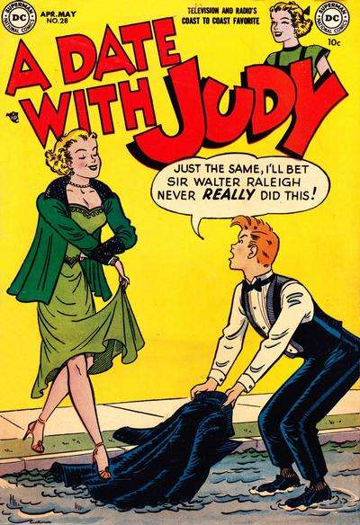 Date with Judy #28 comic books for sale