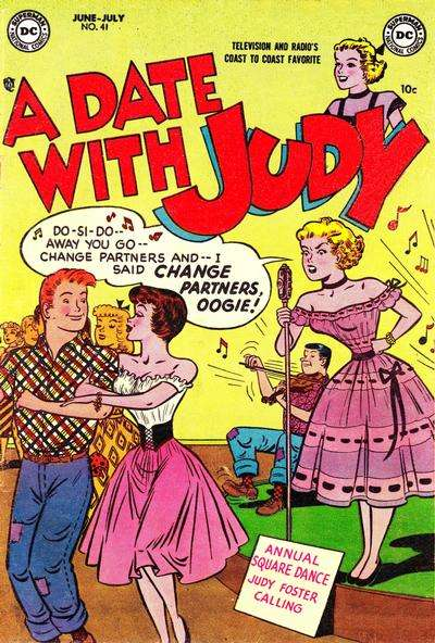 Date with Judy #41 comic books - cover scans photos Date with Judy #41 comic books - covers, picture gallery