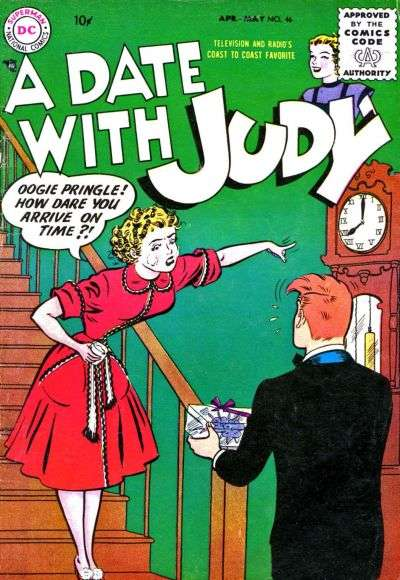 Date with Judy #46 comic books for sale