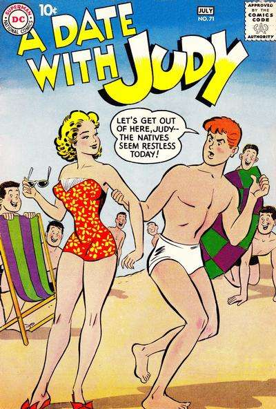 Date with Judy #71 Comic Books - Covers, Scans, Photos  in Date with Judy Comic Books - Covers, Scans, Gallery