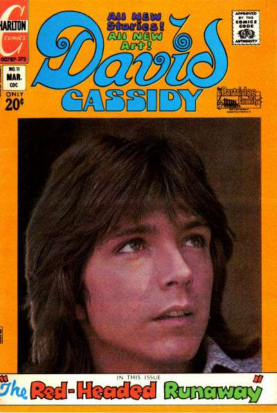 David Cassidy #11 comic books for sale