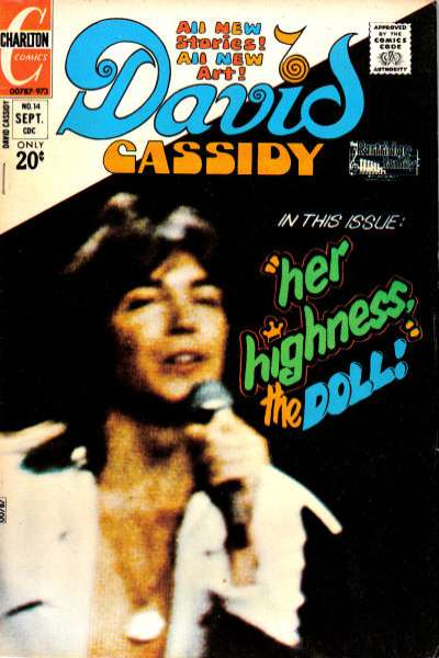 David Cassidy #14 comic books for sale