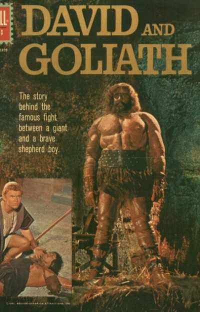 David and Goliath #1 comic books for sale