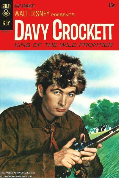 Davy Crockett #2 comic books for sale