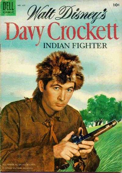 Davy Crockett #1 comic books - cover scans photos Davy Crockett #1 comic books - covers, picture gallery