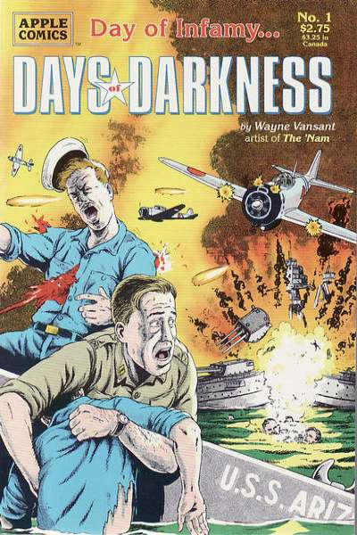 Days of Darkness #1 comic books - cover scans photos Days of Darkness #1 comic books - covers, picture gallery