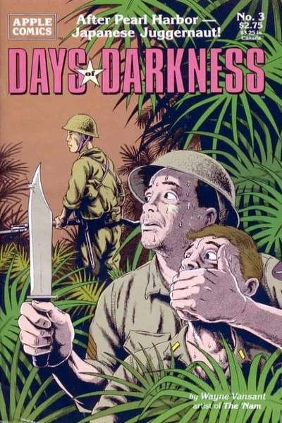 Days of Darkness #3 Comic Books - Covers, Scans, Photos  in Days of Darkness Comic Books - Covers, Scans, Gallery