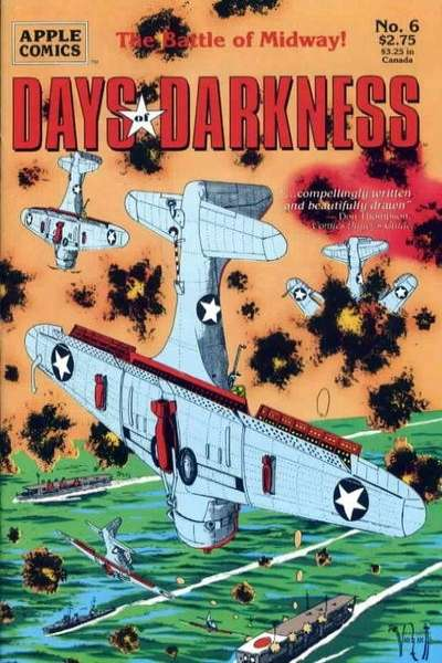 Days of Darkness #6 Comic Books - Covers, Scans, Photos  in Days of Darkness Comic Books - Covers, Scans, Gallery