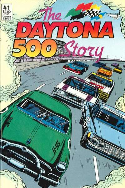 Daytona 500 Story #1 comic books - cover scans photos Daytona 500 Story #1 comic books - covers, picture gallery