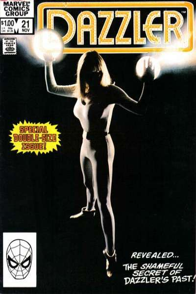 Dazzler #21 Comic Books - Covers, Scans, Photos  in Dazzler Comic Books - Covers, Scans, Gallery