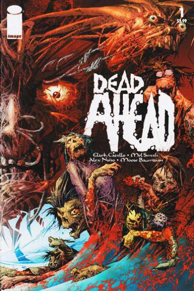 Dead Ahead comic books