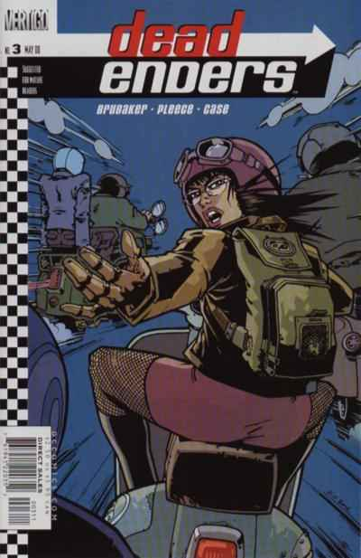 Dead Enders #3 comic books - cover scans photos Dead Enders #3 comic books - covers, picture gallery