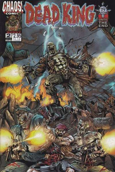 Dead King #2 Comic Books - Covers, Scans, Photos  in Dead King Comic Books - Covers, Scans, Gallery