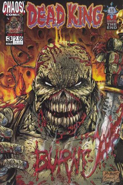 Dead King #3 comic books for sale