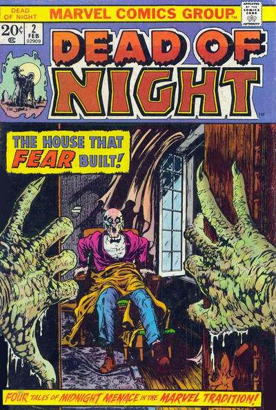 Dead of Night #2 Comic Books - Covers, Scans, Photos  in Dead of Night Comic Books - Covers, Scans, Gallery