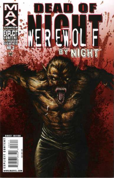 Dead of Night featuring Werewolf by Night #3 comic books - cover scans photos Dead of Night featuring Werewolf by Night #3 comic books - covers, picture gallery
