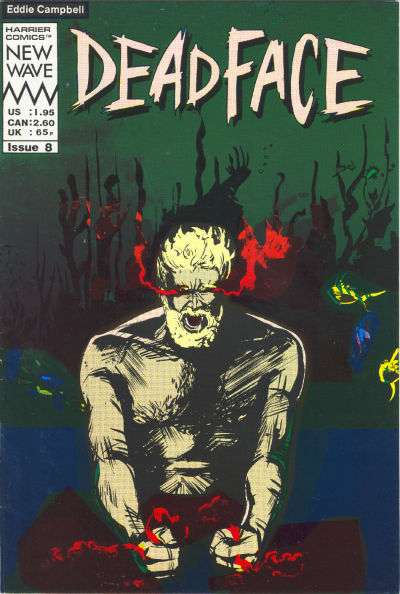 Deadface #8 Comic Books - Covers, Scans, Photos  in Deadface Comic Books - Covers, Scans, Gallery