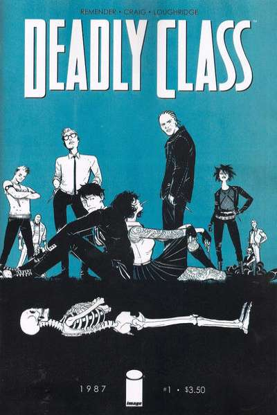 Deadly Class comic books