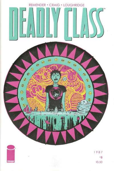Deadly Class #5 comic books for sale