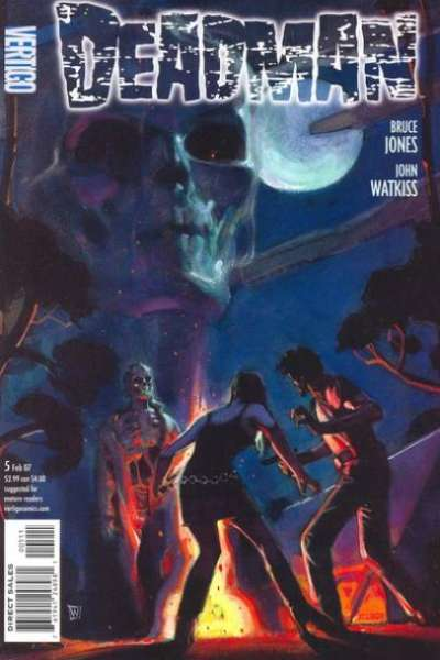 Deadman #5 comic books - cover scans photos Deadman #5 comic books - covers, picture gallery