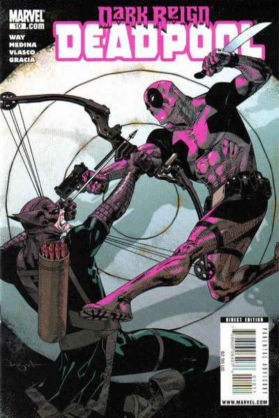 Deadpool #10 comic books for sale
