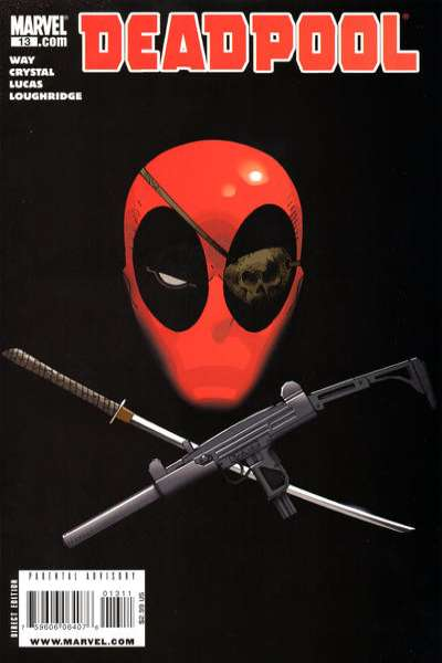 Deadpool #13 Comic Books - Covers, Scans, Photos  in Deadpool Comic Books - Covers, Scans, Gallery