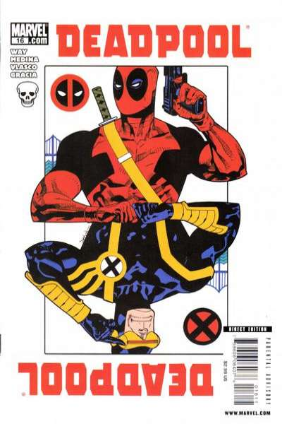 Deadpool #16 Comic Books - Covers, Scans, Photos  in Deadpool Comic Books - Covers, Scans, Gallery