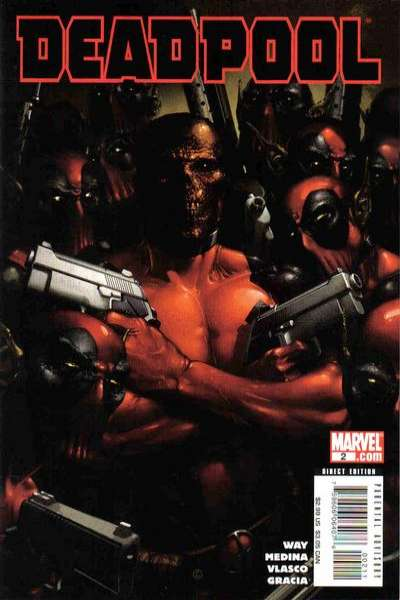 Deadpool #2 Comic Books - Covers, Scans, Photos  in Deadpool Comic Books - Covers, Scans, Gallery
